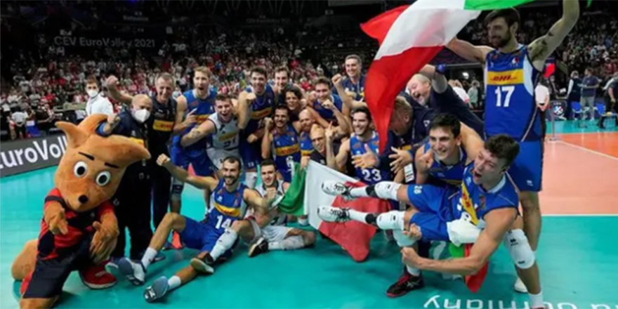 2021 Avrupa Erkekler Voleybol Şampiyonası'nı İtalya kazandı