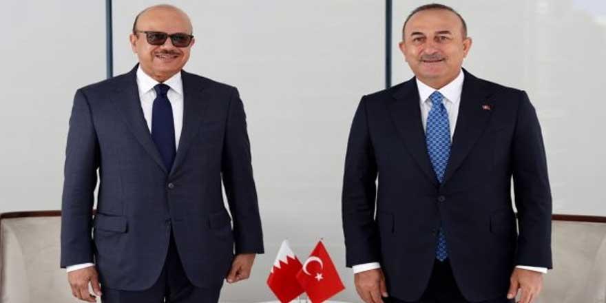 Çavuşoğlu Bahreynli mevkidaşı ile görüştü