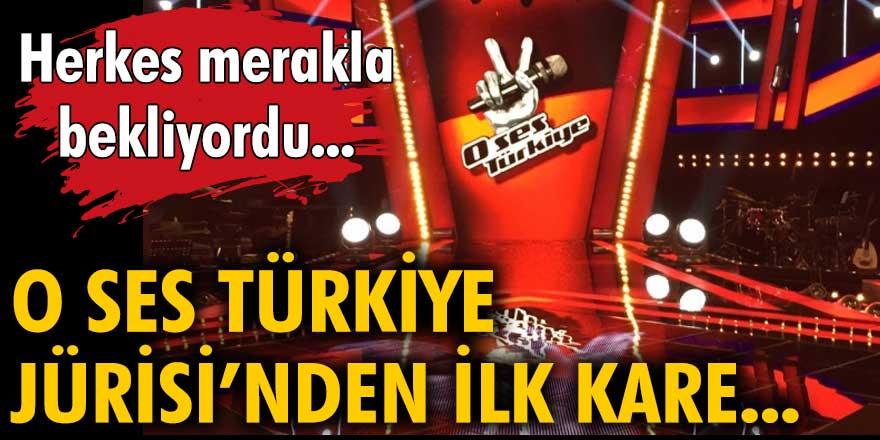 Herkes merakla bekliyordu: O Ses Türkiye jürisinden ilk kare...