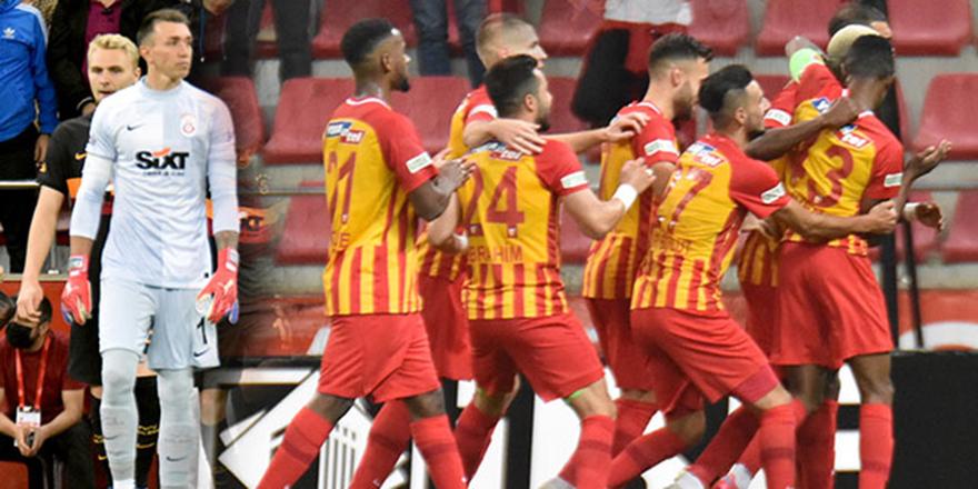 Galatasaray'ın galibiyet hasreti dörde çıktı