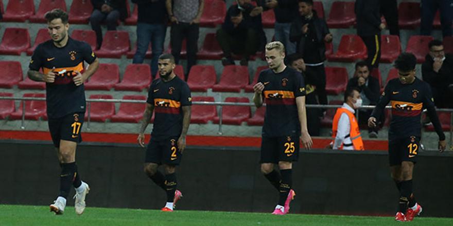 Galatasaray son 237 dakikada kayıp
