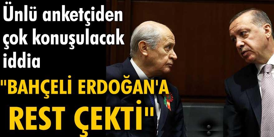 Özer Sencar'dan çok konuşulacak iddia: Bahçeli Erdoğan'a rest çekti