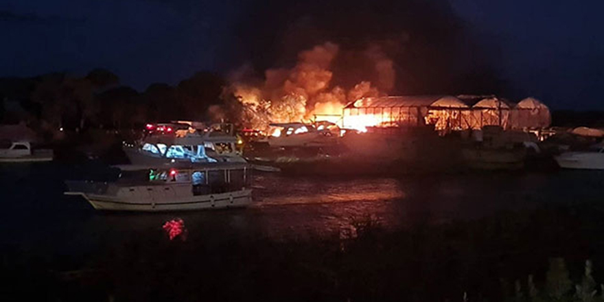 5 milyon TL'lik maddi zarar bırakan yangın