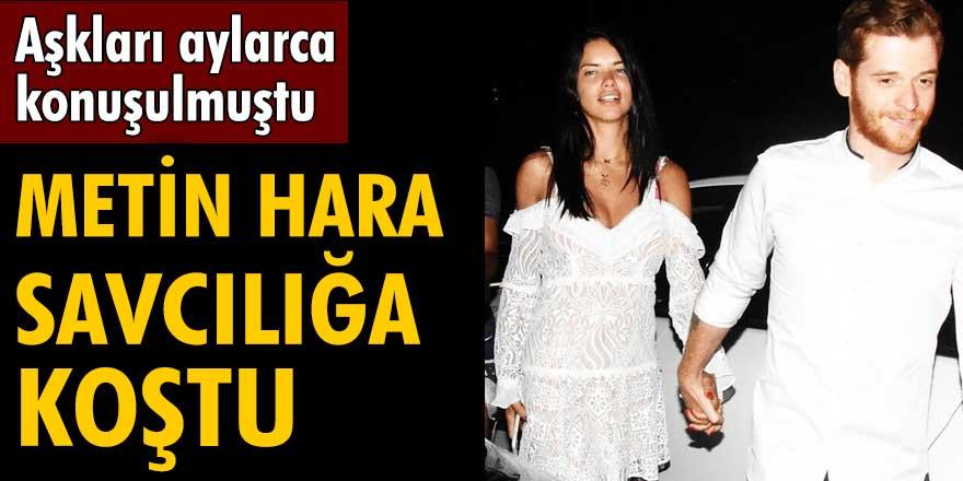 Metin Hara, Adriana Lima ile yaşadığı ilişki sonrası savcılığa koştu!