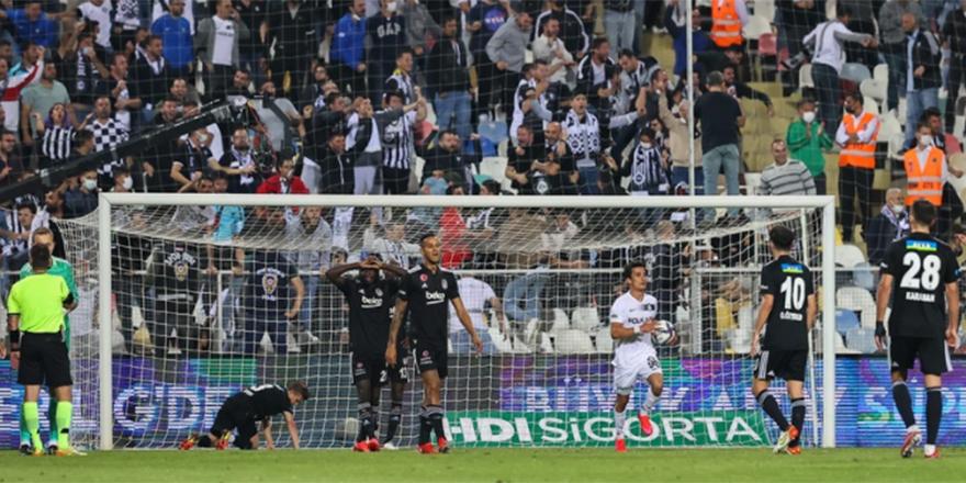 Beşiktaş ligdeki ilk mağlubiyetini Altay karşısında kaldı