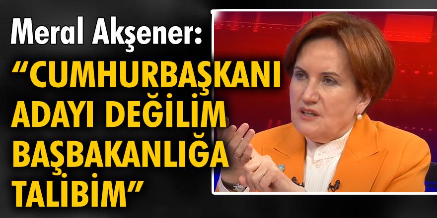 İYİ Parti Genel Başkanı Meral Akşener, Halk TV'de canlı yayın konuğu olarak açıklamalarda bulundu