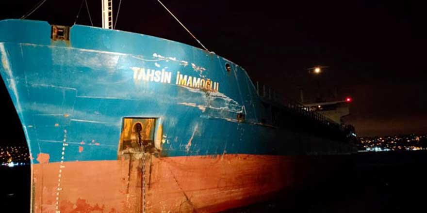 İstanbul Boğazı'nda iki gemi çarpıştı!