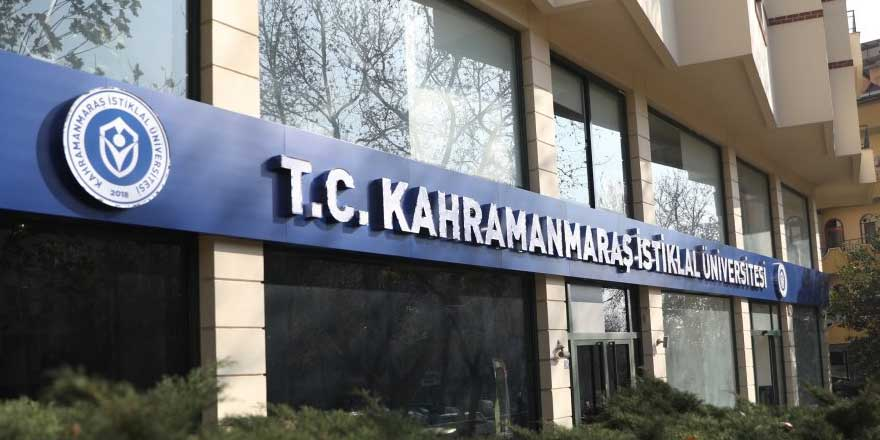 Kahramanmaraş İstiklal Üniversitesi Öğretim Görevlisi alım ilanı