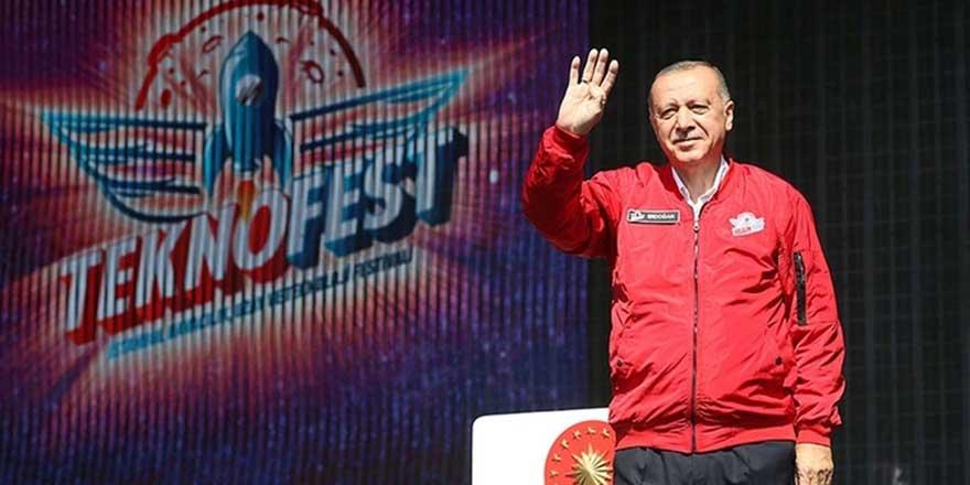 Erdoğan, TEKNOFEST'te açıklamalarda bulundu