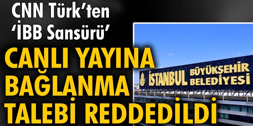 Murat Ongun: İBB Ulaşım Daire Başkanı'nın canlı yayına bağlanma talebi reddedildi