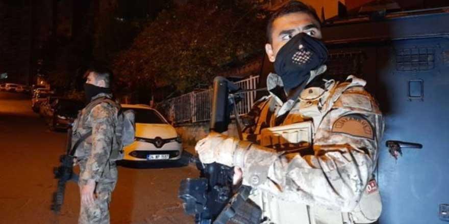 İstanbul'da narkotik operasyonu: Çok sayıda gözaltı var
