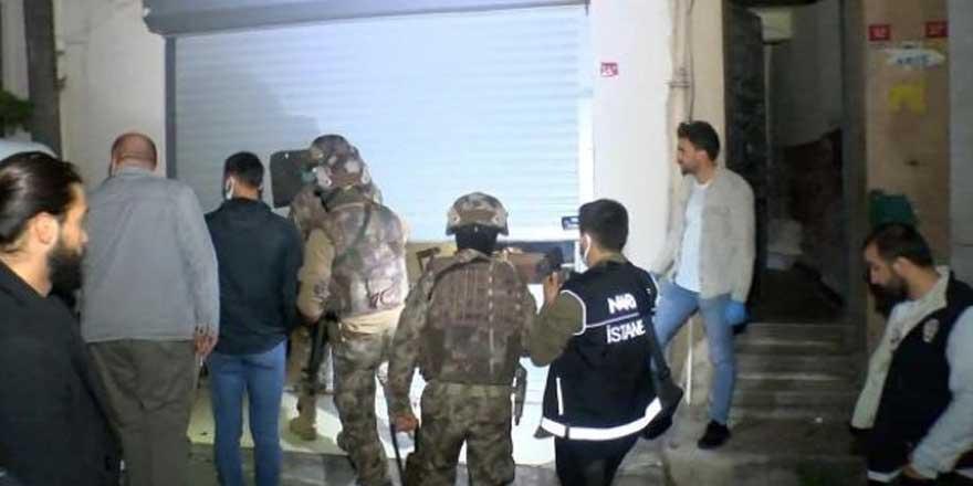 İstanbul'da zehir tacirlerine operasyon: