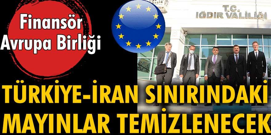 Türkiye - İran sınırındaki 80 bin mayın temizlenecek. Finansör Avrupa Birliği
