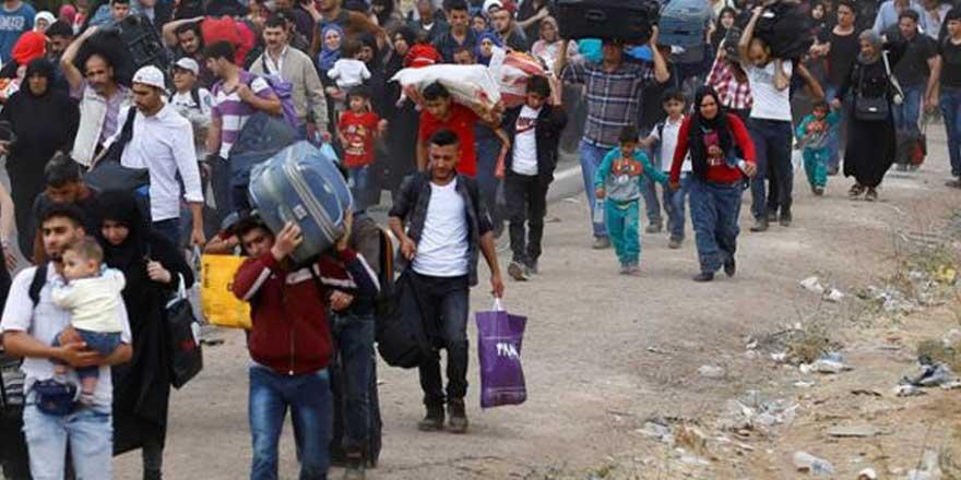 Suriye'den mültecilere 'dönün' çağrısı!