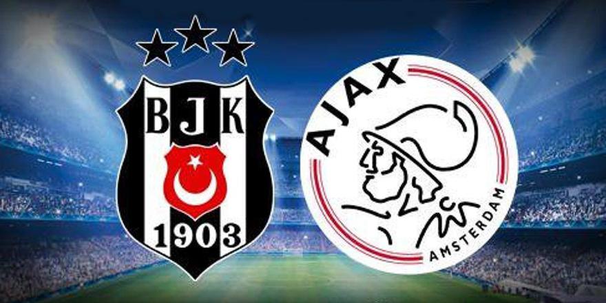 Beşiktaş, Ajax'a 2-0 mağlup oldu.