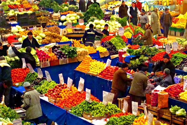 Sebze-meyve sepeti daha ucuza dolacak