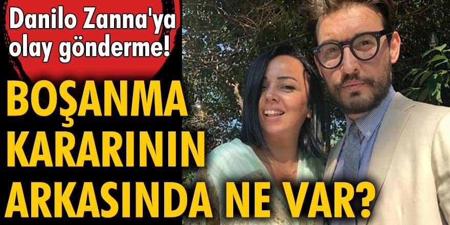 Danilo Zanna'nın boşanma aşamasındaki eşi Tuğçe Demirbilek'ten olay gönderme!