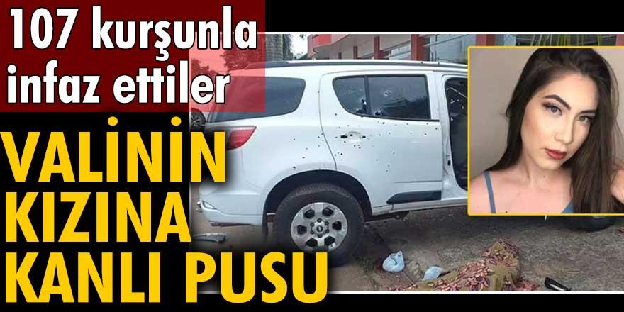 107 kurşunla infaz ettiler! Paraguay'da valinin kızına kanlı pusu
