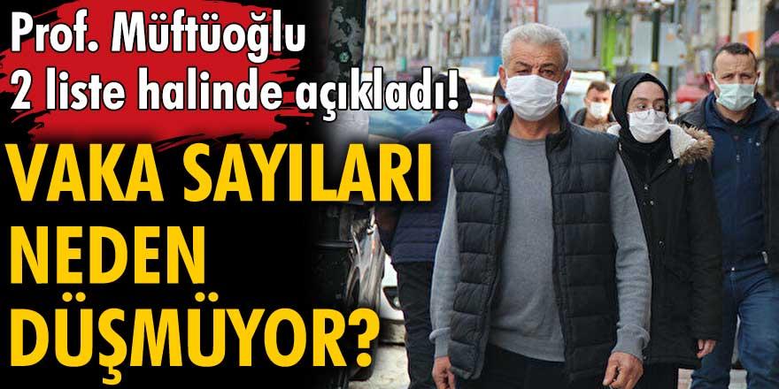 İç hastalıkları uzmanı Prof. Dr. Osman Müftüoğlu açıkladı! Vakalar neden düşmüyor?