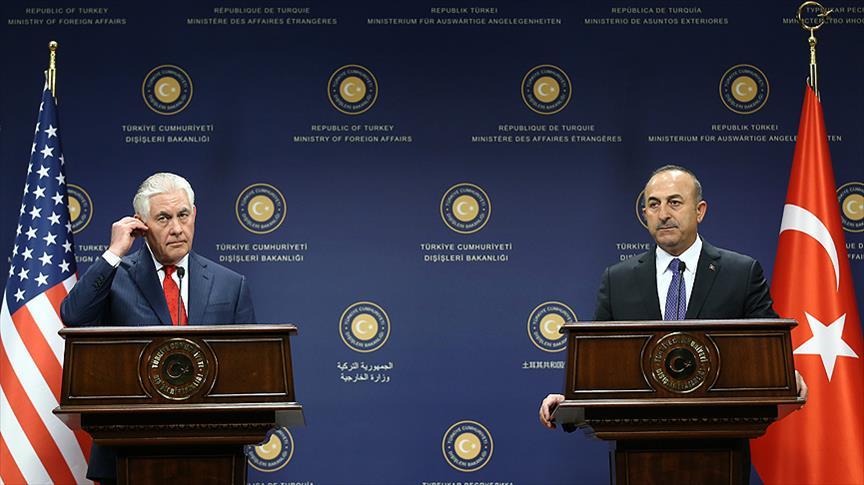 Çavuşoğlu-Tillerson ortak basın toplantısı