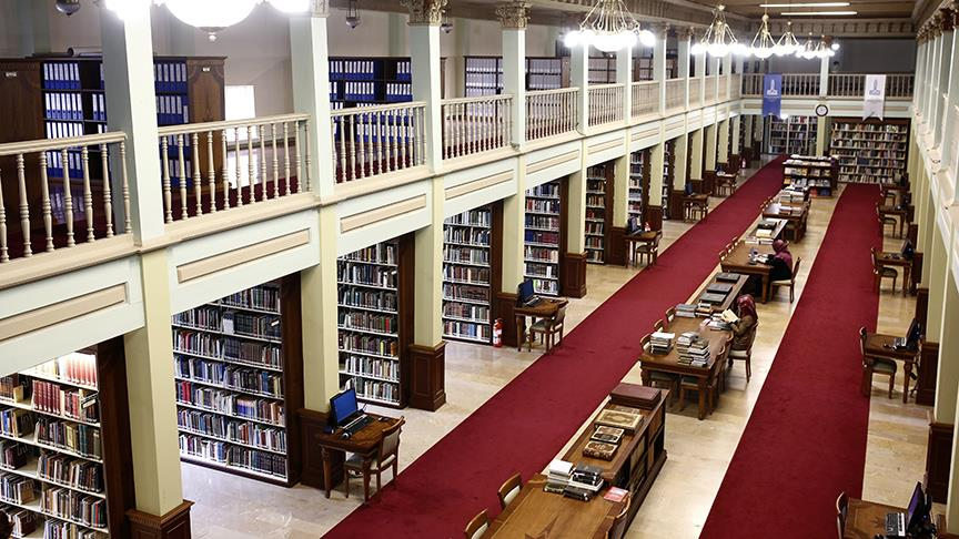 Kütüphaneler teknolojiyle buluştu