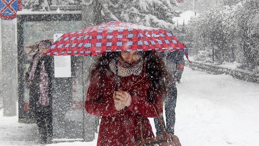 Başkent için kar yağışı uyarısı