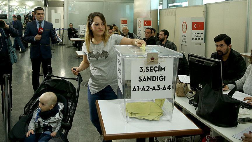 609 bin seçmen oy kullandı