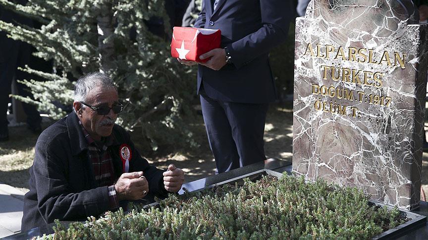 Türkeş vefatının 20. yılında anıldı
