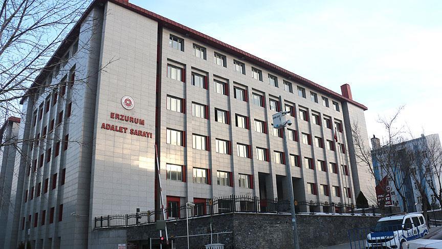 Erzurum'da FETÖ davasının ilk duruşması yapıldı