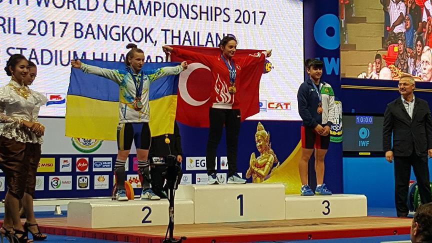 Nuray Levent dünya şampiyonu