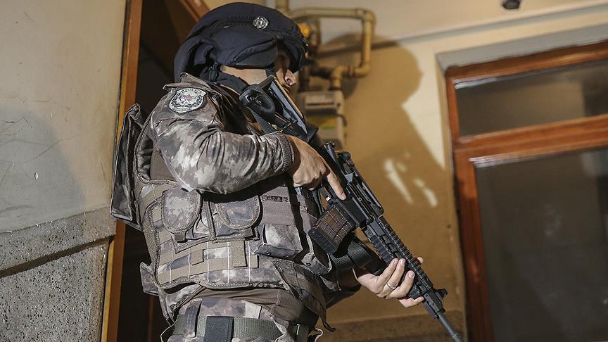 Başkent'te terör operasyonu: 16 gözaltı