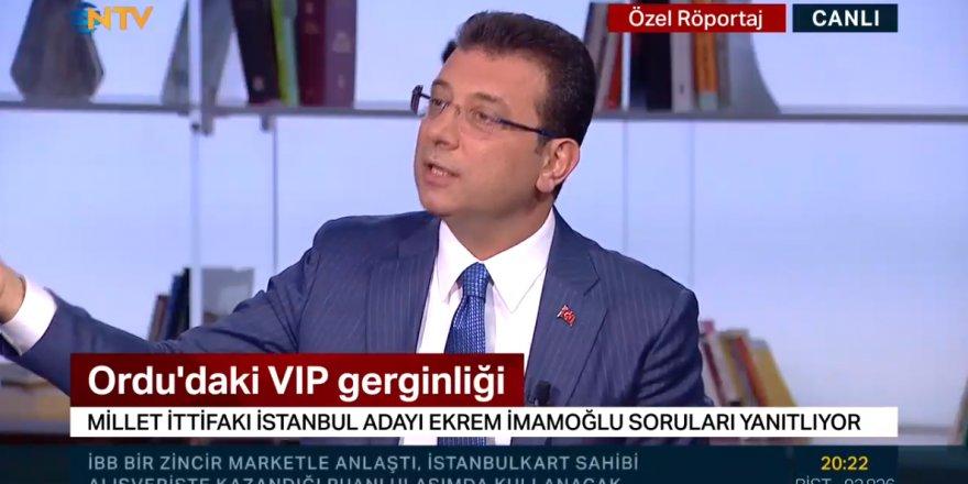 """Ekrem İmamoğlu: """"Vali beye kim talimat vermiştir?"""""""
