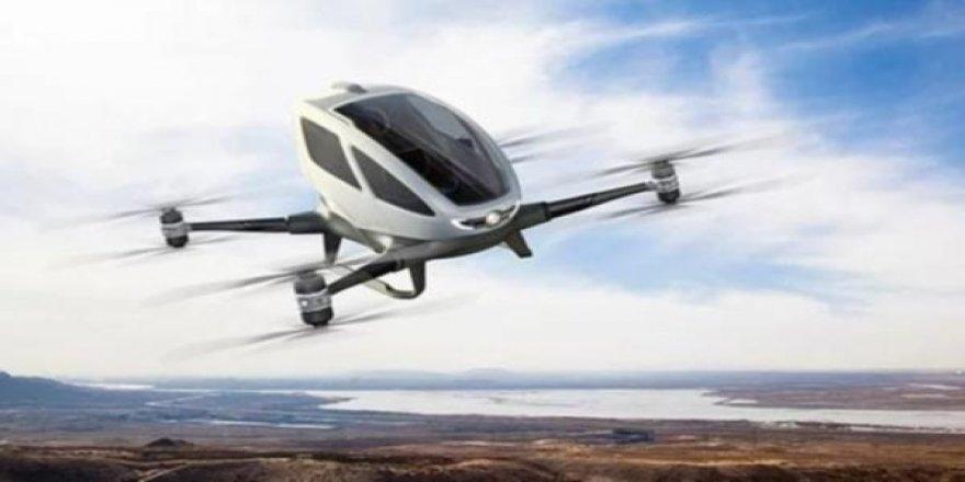 ''Uçan taksi'' hizmeti başlıyor