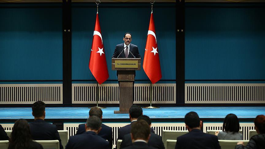 Erdoğan aleyhtarlığına izin vermeyeceğiz