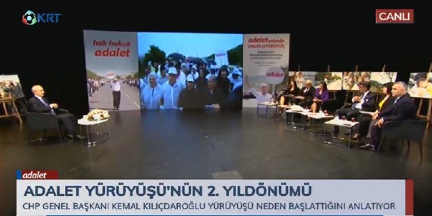 Kılıçdaroğlu'ndan Adalet Yürüyüşü çıkışı