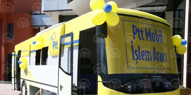 PTT mobil araçları vatandaşa gidiyor