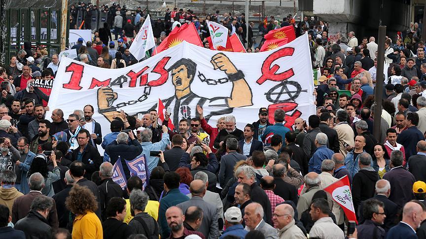 İstanbul'da 1 Mayıs coşkuyla kutlanıyor