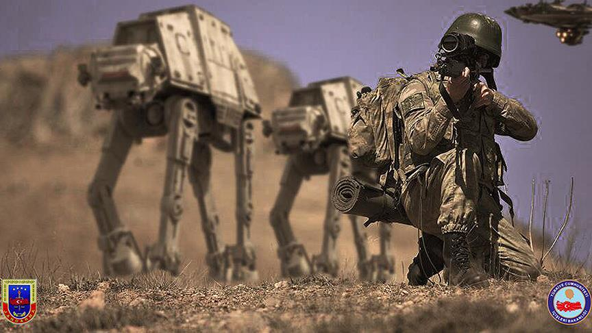 Jandarma'dan 'Star Wars' Mesajı