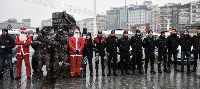 İstanbul'da yılbaşı önlemleri