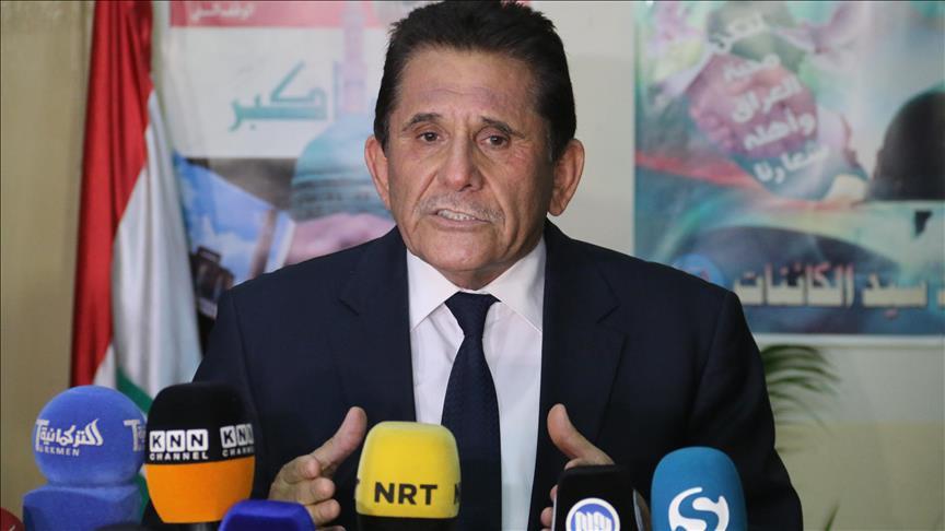 Salihi'den 'PKK paçavrasına' tepki