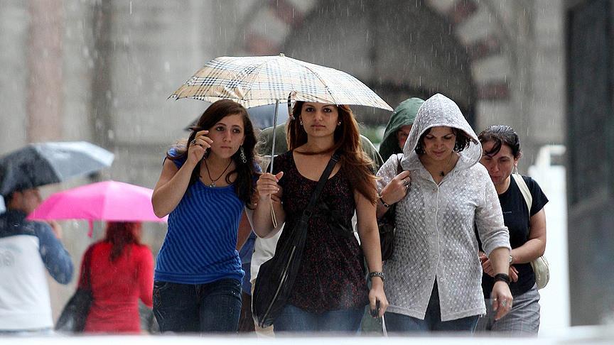 Sıcaklıklar düşüyor, yağışlı hava geliyor
