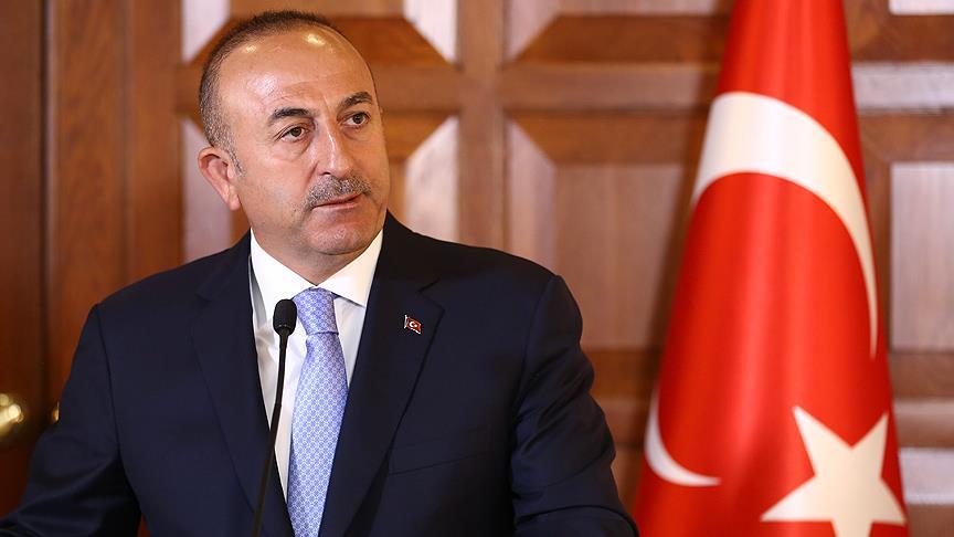"""Bakan Çavuşoğlu:""""Brett McGurk PKK'ya destek veriyor"""""""