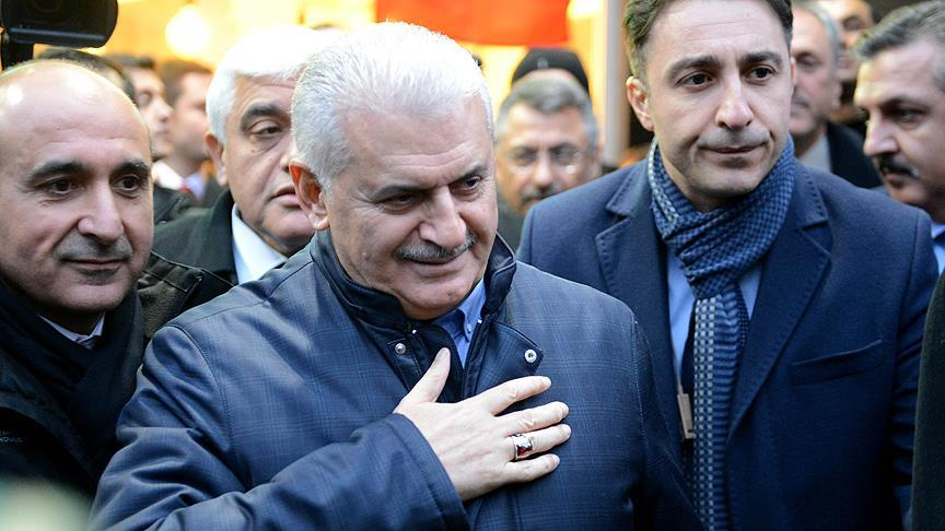 Başbakan Yıldırım Kilis'te halka hitap etti