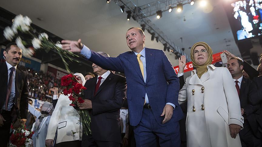 Cumhurbaşkanı Erdoğan tek aday