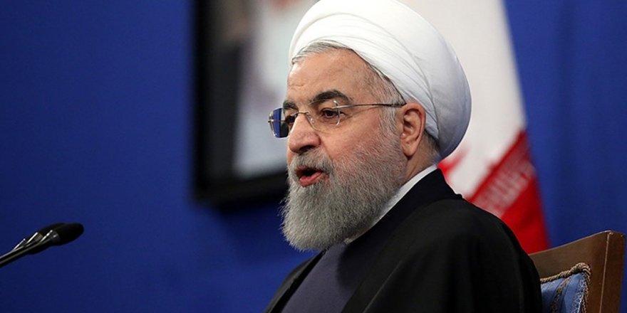 """İran Cumhurbaşkanı Ruhani: """"Müzakereye açığız"""""""