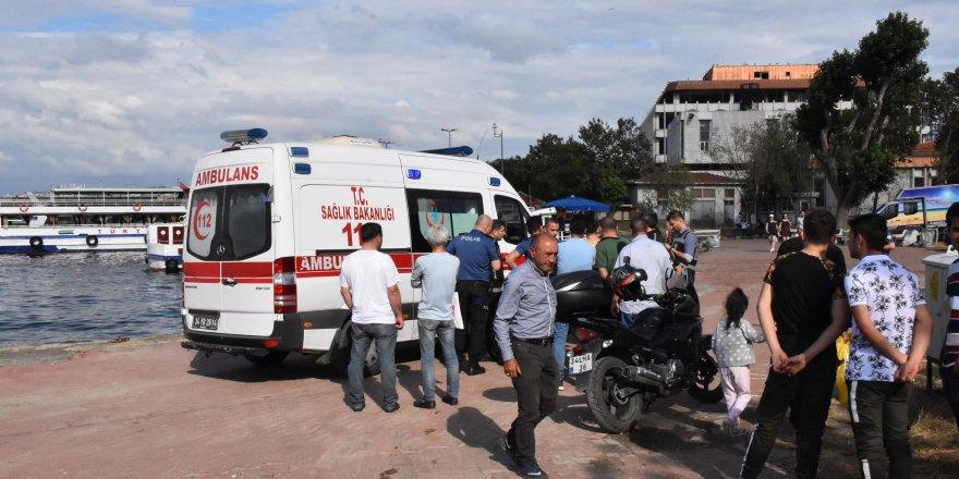 Haliç Metro Köprüsü'nde intihar eden kız kurtarıldı