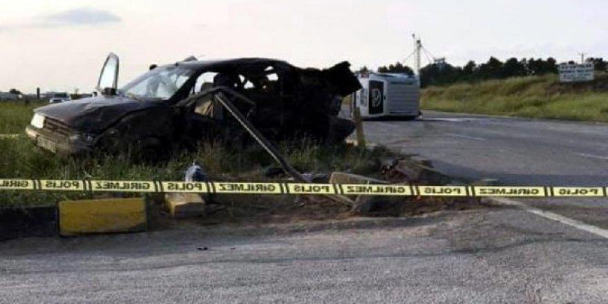 Eskişehir'de korkunç kaza: 3 ölü, 6 yaralı