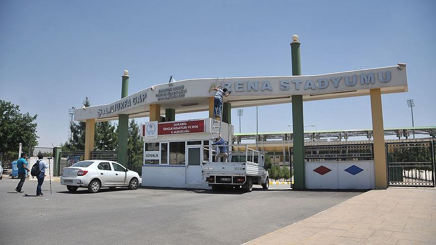 Şanlıurfa'daki stadın adı '11 Nisan' oldu