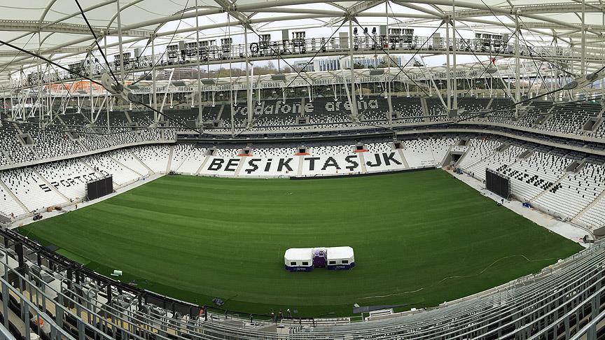 Beşiktaş stadının adını değiştirdi