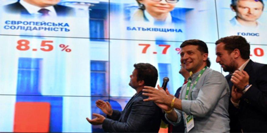 Ukrayna'da kazanan belli oldu